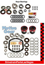 1997-2006 JEEP TJ DANA 30 35 Front Rear Master Bearing Kit HD Outer Axle Seals