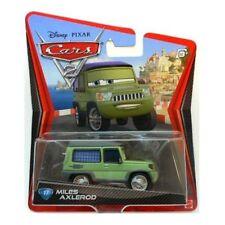 CARS 2 - MILES AXLEROD - Mattel Disney Pixar
