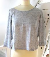 Tee-shirt Monoprix gris T1/36