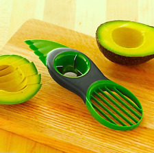 3-in-1 Avocado Slicer Splits Slice Sharp Pitter Peeler Kitchen Gadgets Tools Neu