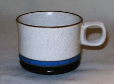 Denby ~ Potter's Wheel BLUE ~ COFFEE CUP / TEA ~ England ~ NEW/ OLD STOCK ~ MINT