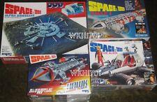 Space:1999 MOONBASE ALPHA, EAGLE, HAWK & ALIEN Model Kit Set All 4 New Kits MISB