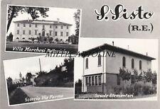 S. SISTO (RE):  3 vedute   1960