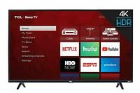"TCL 75"" 4K Ultra HD HDR Roku Smart TV - 75S425"