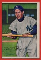 1952 Bowman #52 Phil Rizzuto VG-VGEX Wrinkle New York Yankees FREE SHIPPING