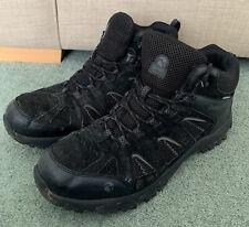 GELERT Tryfan Mid Waterproof Mens Walking Boots Black Size UK 11 Eur 46 US 12