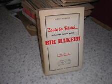 1945.vérité sur journal clandestin Bir Hakeim / André Jacquelin.envoi autographe