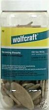 "NEW! WOLFCRAFT Biscuits #10 3/4""x3-1/8"" 150-ct #2991"