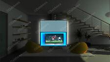 50cm STRISCIA LED Luce Cambia Colore Sotto Cabinet partito Display-Adattatore 12V