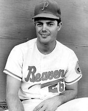1967 Portland Beavers LOU PINIELLA Glossy 8x10 Photo Minor League Baseball