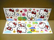 Hello Kitty , Wandaufkleber  Wandsticker Wandtattoo Sticker Decofun Hallo Kitty