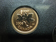 2006 UNC Specimen Canadian Penny One Cent ($0.01) - 1 cent coin P
