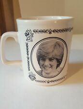 Princess/Lady Diana Prince Charles The Royal Wedding commorative cup mug England
