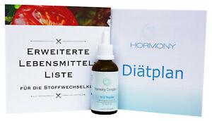 HORMONY Complex B12 hCG Tropfen 21 Tage Stoffwechselkur Diät SWK ohne Globuli