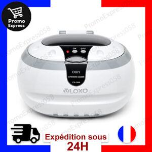 Nettoyeur Ultrasons 600ml Bac Professionnel Cuve Acier Inox Panier Support Neuf