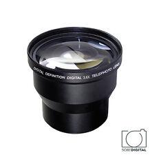 49MM 3x Telephoto Zoom Lens for SONY ALPHA NEX-3 NEX-5 NEX-7 A3000 NEX-F3
