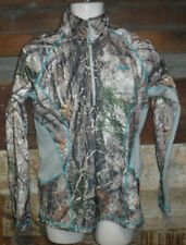 CABELA'S ZONZ WOODLANDS OUTFIT HER PULLOVER CAMOUFLAGE WOMEN'S SIZE MEDIUM L@@K