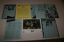 Wrath Very Rare Promo Picture 1 Page Band Bio 5 Page Various Magazie Articles