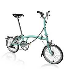 New Brompton M6L 2018 Folding Bike Turkish Green WORLDWIDE