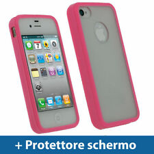Cover e custodie rosa semplice per iPhone 4s