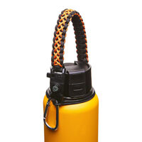 Paracord Handle Strap Cord Safety Ring & Carabiner for Hydro Flask Wide Mouth 10
