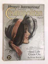 Vintage Cosmopolitan Magazine 1931 Hearsts International Women's Fashions 1930s