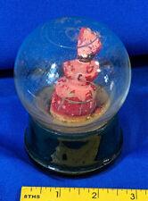 Snow Globe Atlas Crystal Works Black Americana Little Mammy Rare Antique VTG