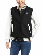 Adidas Mat Mix Varsity Women's Jacket, Black UK Size 10 - BNWT