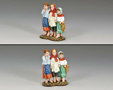 KING AND COUNTRY Three Russian Children FOB141 Painted Metal