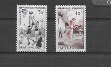 FRANCE 1956 SPORTS SG1297,1298umm. CAT £10.60
