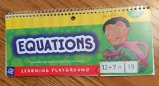 Equations by Learning Playground addition and subtraction 5yo+ Mint Condition
