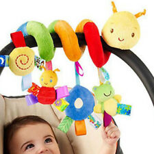 Baby Toys infant Stroller Bed Cot Crib Hanging doll Infant Animal Rattles Toy AU