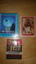 E.T The Extra Terrestrial 1984 by topps cards