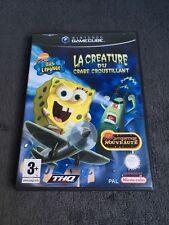Nintendo Game Cube Bob l'éponge La créature du Crabe Croustillant FRA