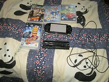 SONY 1003  PSP CONSOLE BUNDLE 4 GAMES,CHARGER.  .