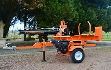 20Ton Venom METER LENGTH towable petrol Log Splitter By Rock Machinery