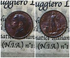 Regno d'Italia Vittorio Emanuele III 1 Centesimo Prora  1915 splendido rosso