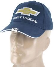 Chevy Chevrolet Truck Blue Baseball Cap Trucker Hat Snapback Silverado Colorado