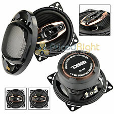 "DS18 BD-G44 Black Diamond 4"" 3-Way Coaxial Speaker 240W Max Power 2 Pack Set"