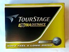 NEW BRIDGESTONE TOURSTAGE EXTRA DISTANCE Ball Yellow 1 Dozen Imported from Japan