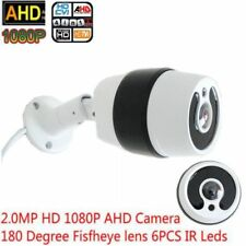 6 pcs 1080P HD AHD TVI CVI Security Camera CCTV 2MP 180 degree IR Night Vision
