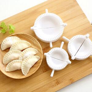 3pcs Dumpling Mold Pierogi Turnover Ravioli Empanada Dough Press Mould Ma QA