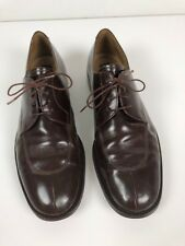 MENS BARNEY NEW YORK SHOES 12 MADE IN ITALY Brown