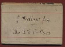 Lewisham. Harriet Eliabeth Woollard. 25 Sandrock Road. Account book 1925  z2.139