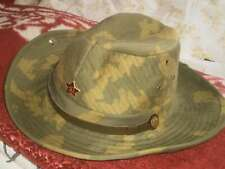 Soviet Russian Afghanistan Guard FIRST TYPE Military Army Panama Cap Hat 60 USSR