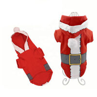Pet Dog Cat Puppy Christmas Jumper Elk   Clothes Xmas Party Sweater Costumes