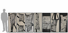 série de 8 encres de Sébastiano Fini (1949-2003)