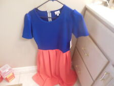 *********** New Womens Lularoe Amelia Dress W Tags Medium