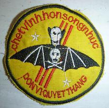 MERCENARY - Patch - DA NANG CRACK RECON - BLACK BAT PARAS - Vietnam War - 3416