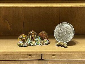 Vintage Artisan BETTERLEY '81 Tiny Cottages Display Dollhouse Miniature 1:12
